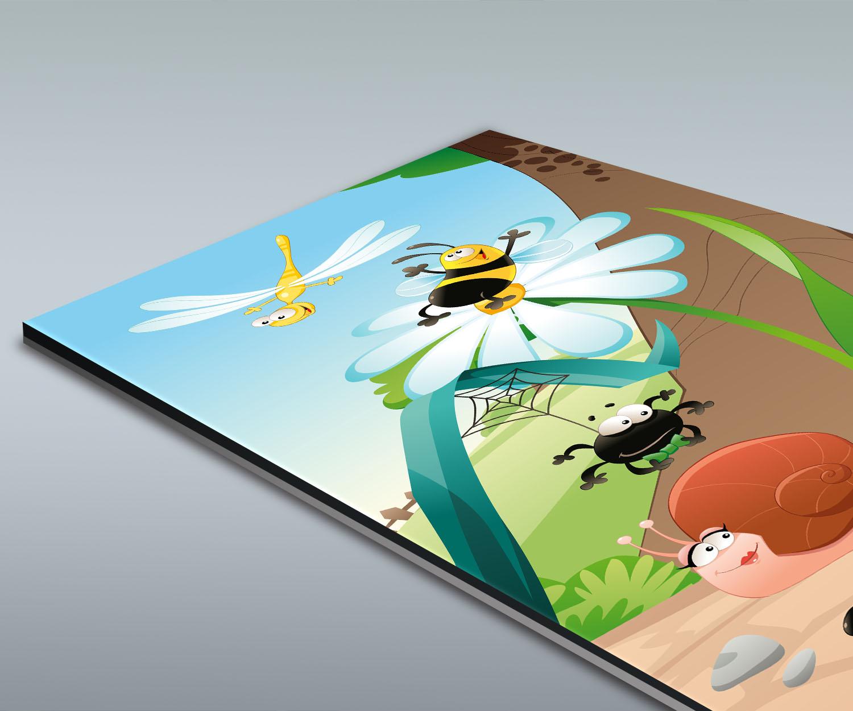 Duschr ckwand waldinsekten deko design ebay for Design deko