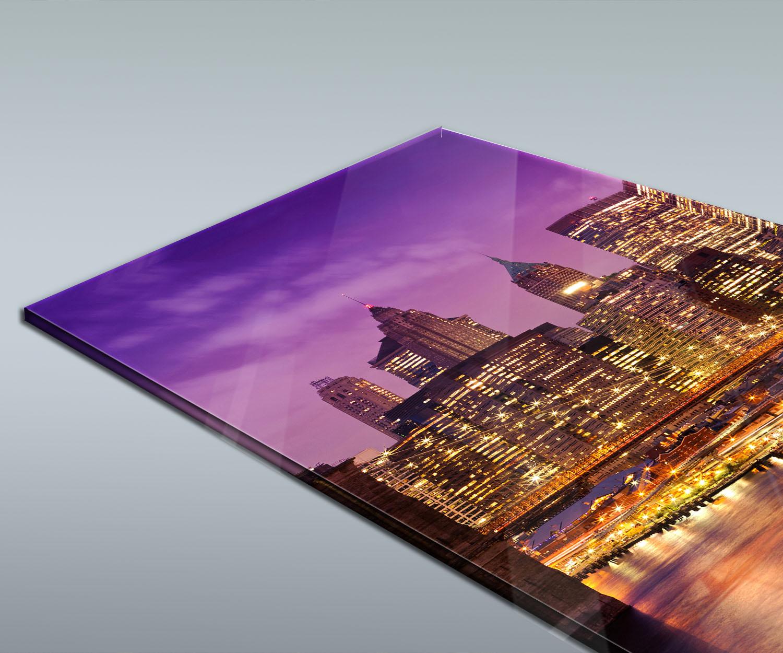 Duschr ckwand new york bei nacht deko design ebay New york deko