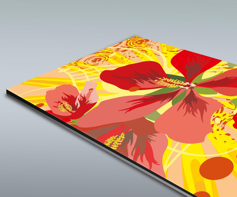 Duschr ckwand victoria floral deko design ebay for Deko design shop