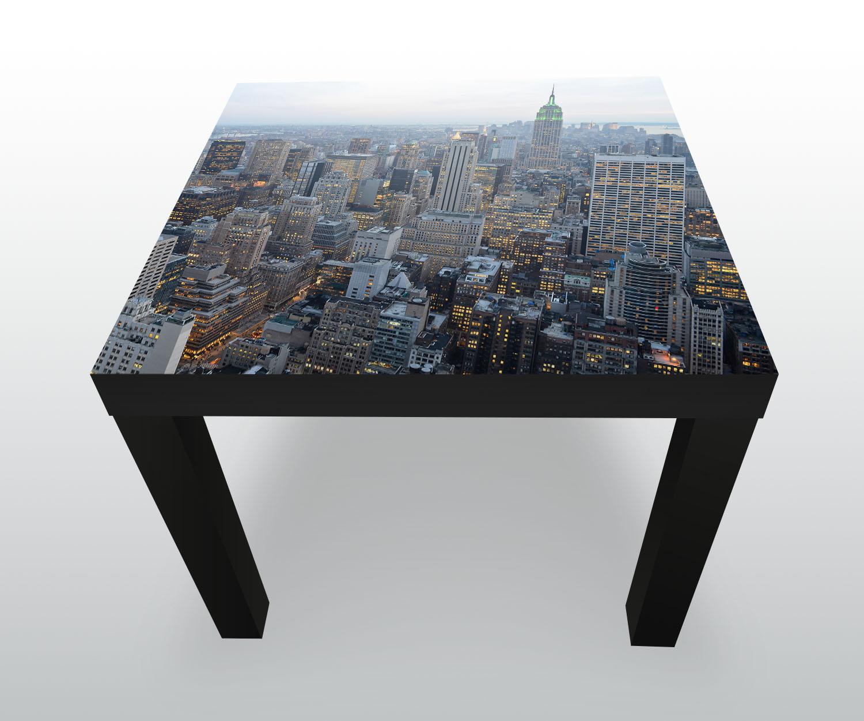 Beistelltisch new york skyview designtisch ebay for Beistelltisch york