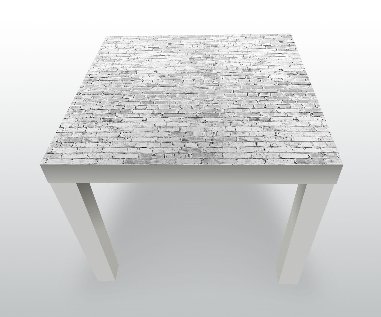 beistelltisch klinkersteine grau designtisch ebay. Black Bedroom Furniture Sets. Home Design Ideas