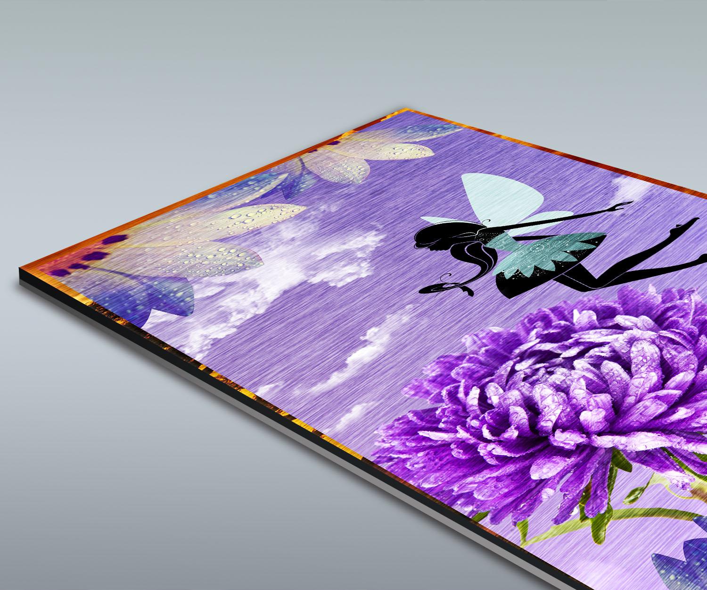 Duschr ckwand blumenfee deko design ebay for Design deko shop