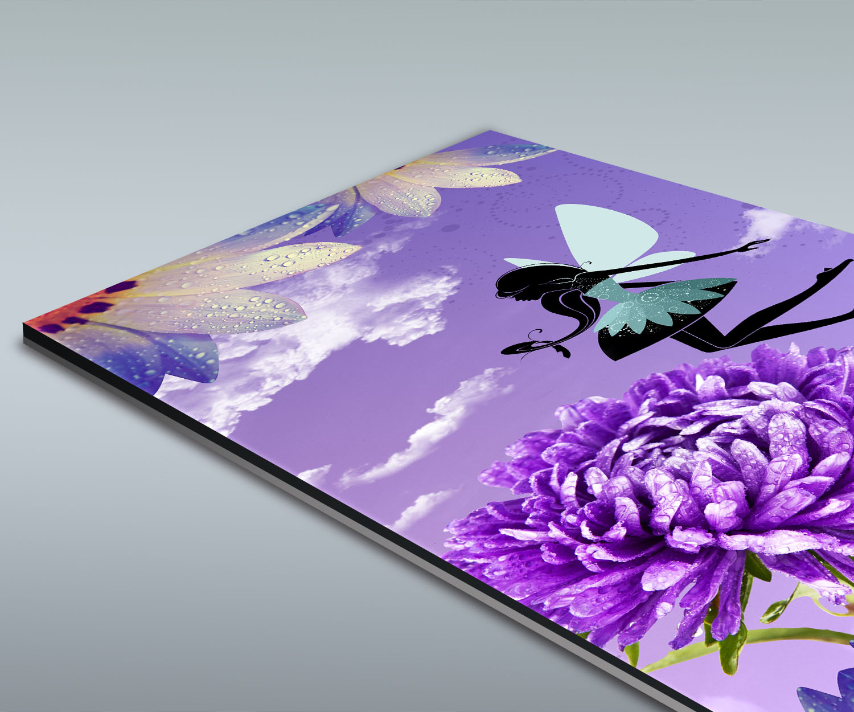 Duschr ckwand blumenfee deko design ebay for Deko design shop