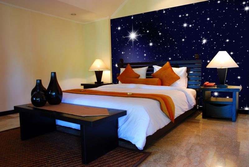 Sternenhimmel Fürs Schlafzimmer : fototapete sternenhimmel tapete kunstdruck wandbild ebay ~ Michelbontemps.com Haus und Dekorationen