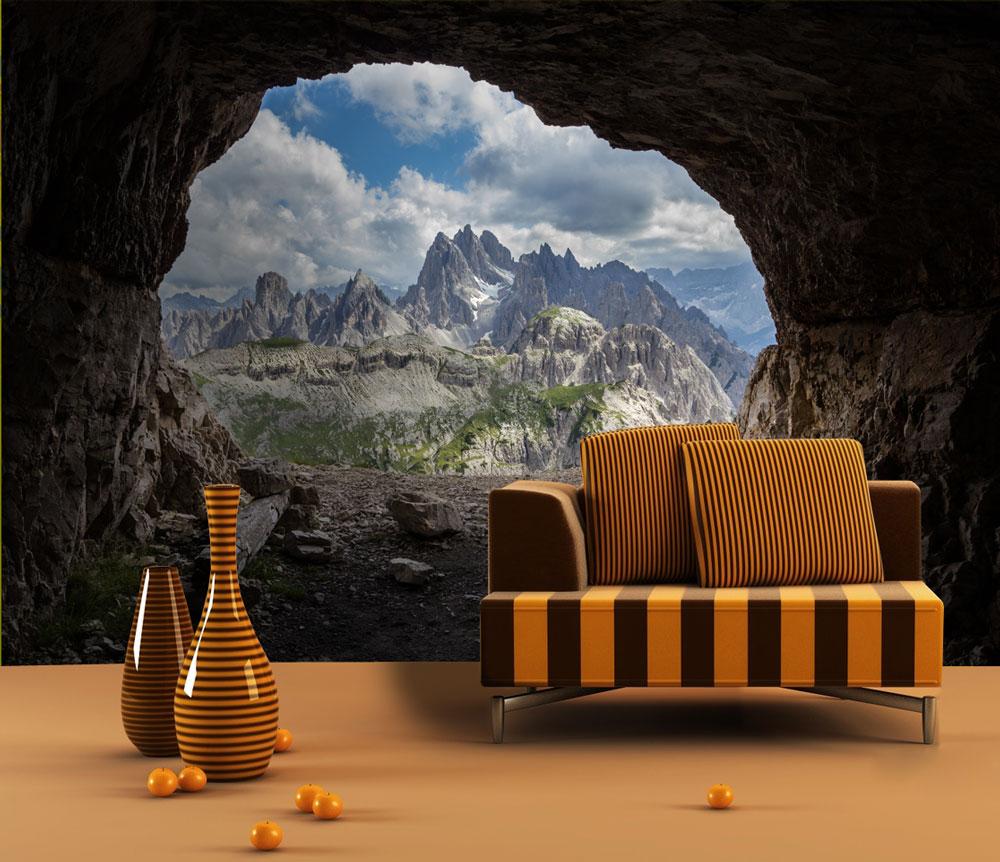 fototapete dolomiten alpen tapete kunstdruck wandbild. Black Bedroom Furniture Sets. Home Design Ideas