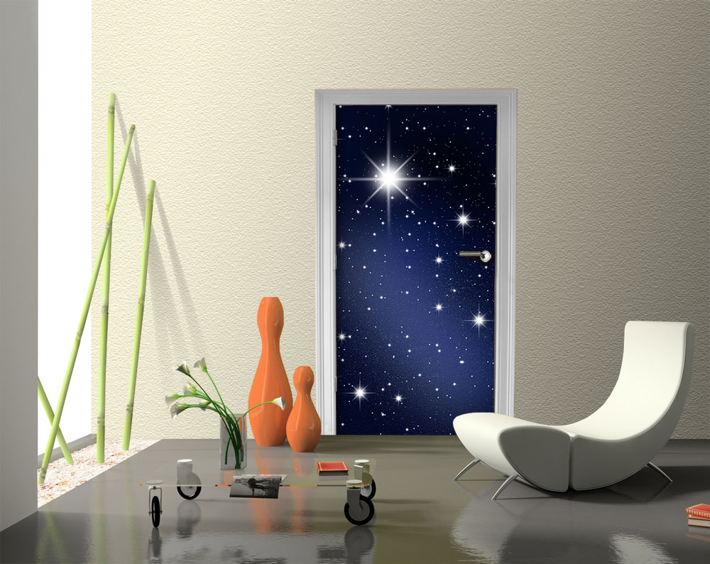 Fototapete sternenhimmel  Fototapete Sternenhimmel Tapete Kunstdruck Wandbild | eBay