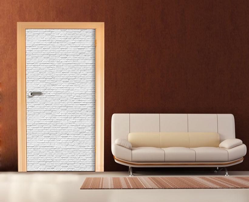 fototapete weisser backstein tapete kunstdruck wandbild ebay. Black Bedroom Furniture Sets. Home Design Ideas
