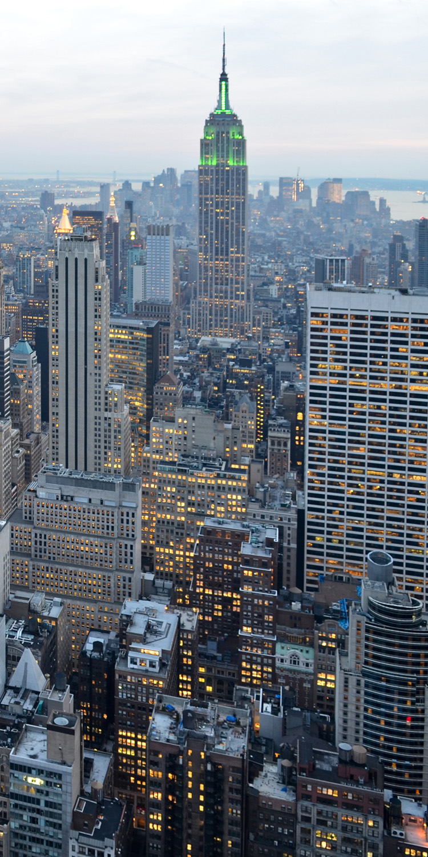 fototapete new york skyview tapete kunstdruck wandbild ebay. Black Bedroom Furniture Sets. Home Design Ideas