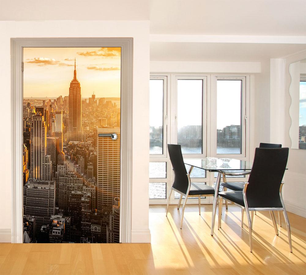 fototapete new york tapete kunstdruck wandbild ebay. Black Bedroom Furniture Sets. Home Design Ideas